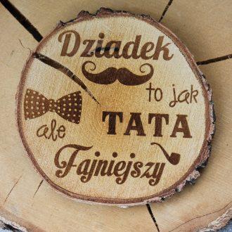 plaster drewna dziadek